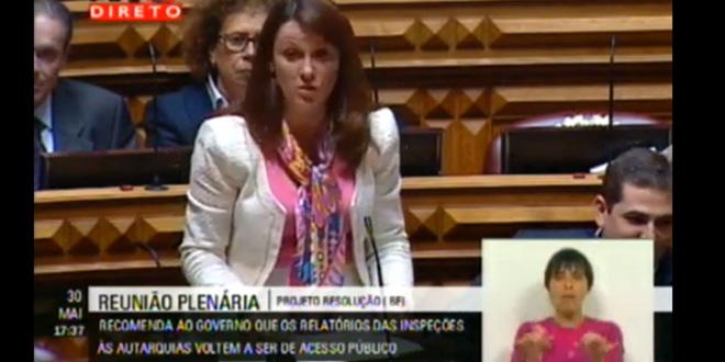 Intervenção de Ângela Guerra no Plenário