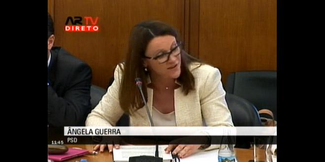 Ângela Guerra questiona Ministro Adjunto e do Desenvolvimento Regional