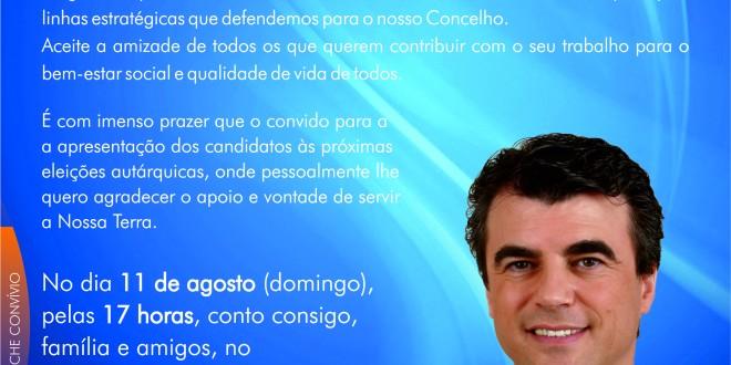 Convite – Autárquicas Figueira C. Rodrigo