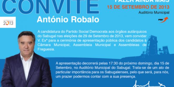 Autárquicas 2013 Sabugal – Apresentação Pública Candidatos