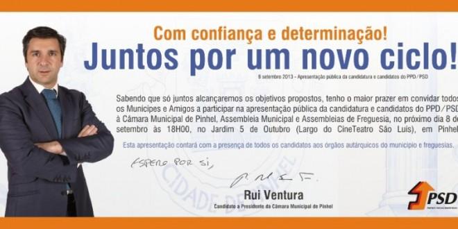 Apresentação Pública Candidatos PSD – Pinhel