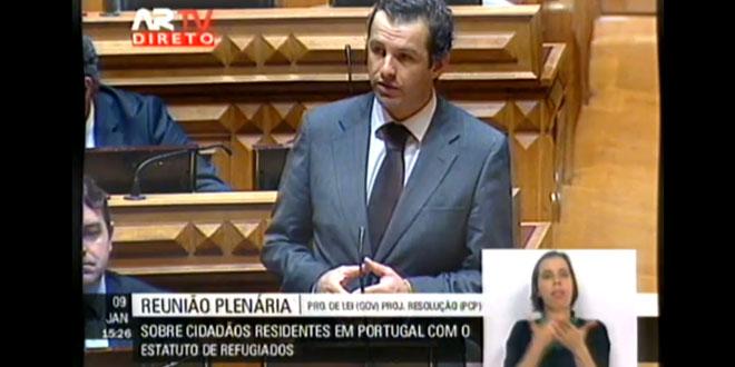 Intervenção do Deputado Carlos Peixoto
