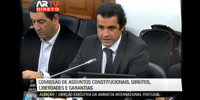 Carlos Peixoto questiona Direção Executiva da Aminstia Internacional Portugal