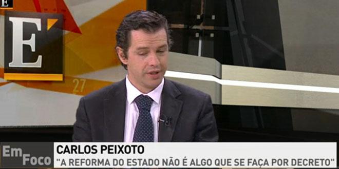 Participação do Deputado Carlos Peixoto no Económico TV