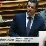 Intervenção de Carlos Peixoto no Plenário