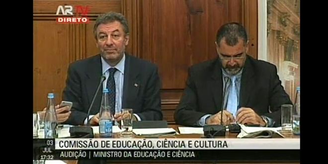 João Prata questiona Ministro da Educação e Ciência